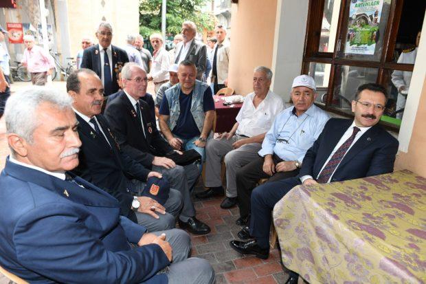 Vali Aksoy,Ereğli'de Vatandaşlar Birlikte