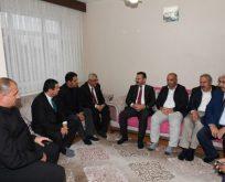 Vali Aksoy'dan İşler Ailesine Taziye Ziyareti