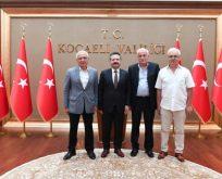 Kocaeli Abhaz Derneğinden Vali Aksoy'a Ziyaret