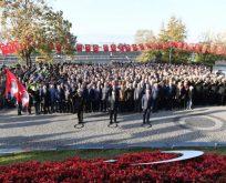 Atatürk'ün aramızdan ayrılışının 81. yıldönümü ilimizde törenlerle anıldı