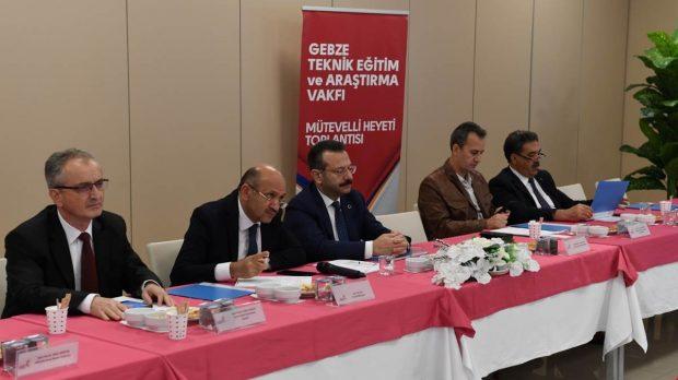 Gebze Teknik Eğitim ve Araştırma Vakfı toplantısı yapıldı