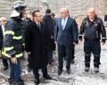Vali Aksoy yangın mahallinde incelemelerde bulundu
