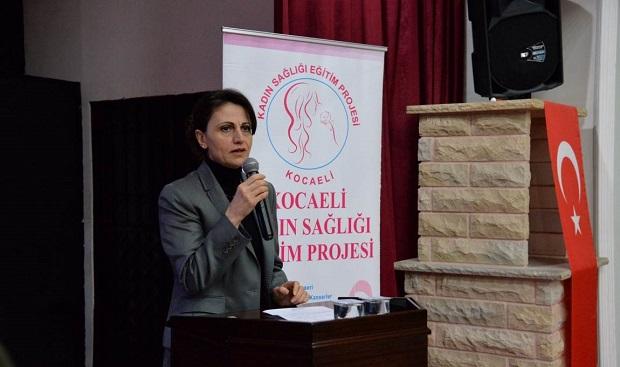 """Kandıra'da""""Kocaeli Kadın Sağlığı Eğitim Projesi"""" Çalışması"""