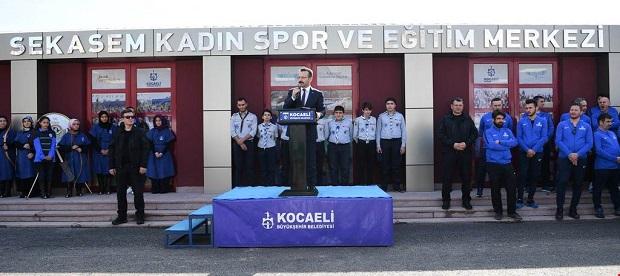 SEKASEM Kadın Spor Eğitim Merkezinin tanıtımı yapıldı