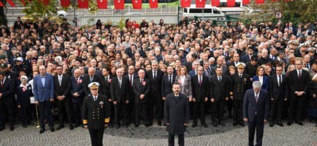 Atatürk'ün aramızdan ayrılışının 80. Yılı