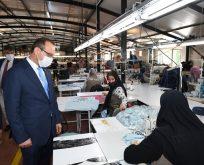 Vali Yavuz,Bizimköy Engelliler Üretim Merkezinde