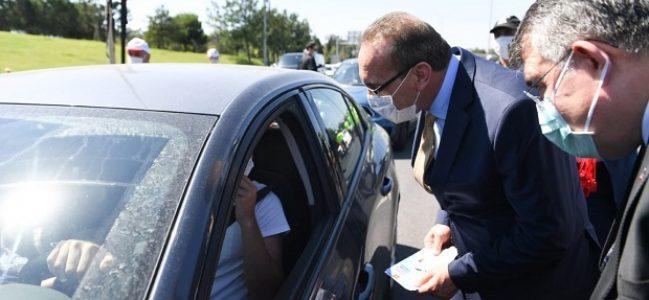 Vali Yavuz, Gebze Trafik Uygulama Noktasında
