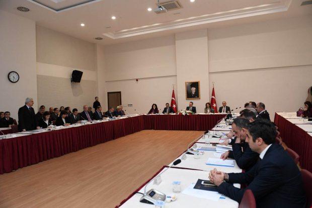 İlçe Kaymakamları 'Sokak Çocukları Koordinasyonu' Toplantısında