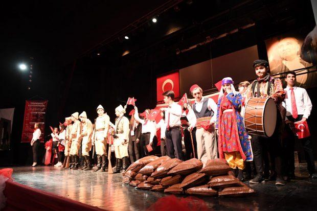 18 Mart Şehitler Günü ve Çanakkale Zaferini anma programı gerçekleştirildi