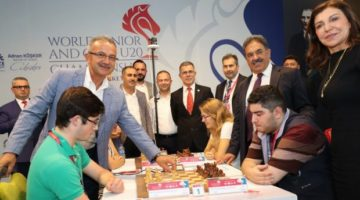 Dünya Satranç Şampiyonası Gebze'de Başladı!