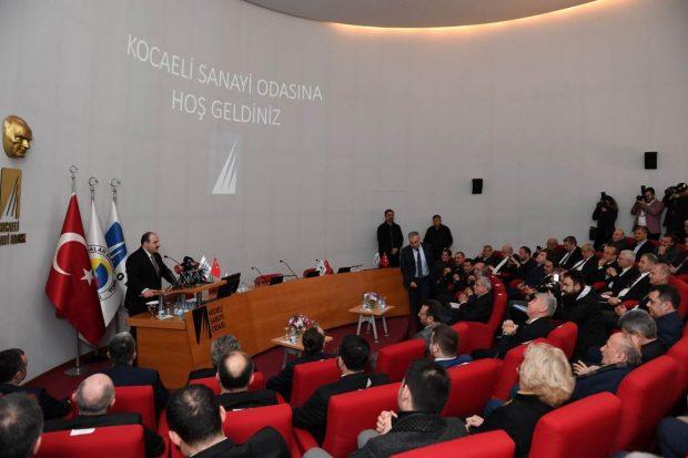 Bakan Varank KSO Değerlendirme Toplantısında