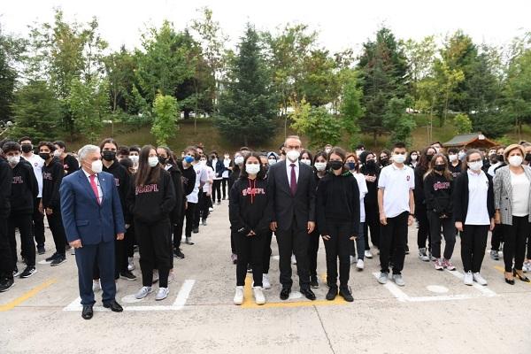 Vali Seddar Yavuz'un katılımıyla aşılama programı