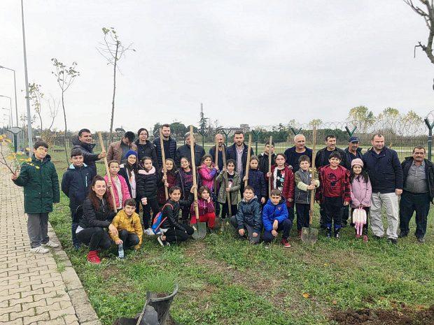 Çocuklar GTÜ Kampüsü'ne renk kattı