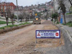 Çayırova Bosna Caddesi duble yola dönüşüyor