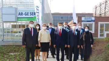 Biyoteknoloji Enstitüsü Ar-Ge Serası Açıldı