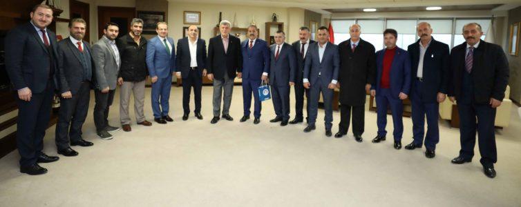 Dadaşlardan Karaosmanoğlu'na Ziyaret