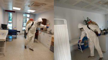 Gebze'de dezenfekte çalışmalarına devam