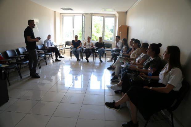 Usta öğreticilere eğitim kampı