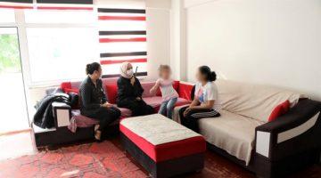 İşitme engelli bireylerin evlerine ziyaret