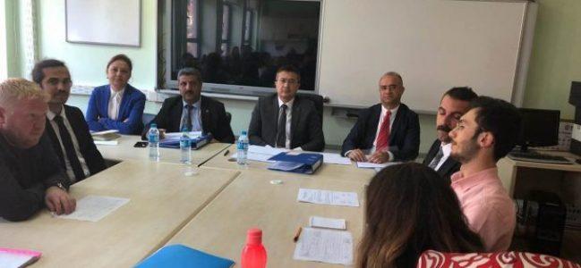"""Hasan Ali Yücel Ortaokulunda """"Okul Toplantısı"""" yapıldı"""