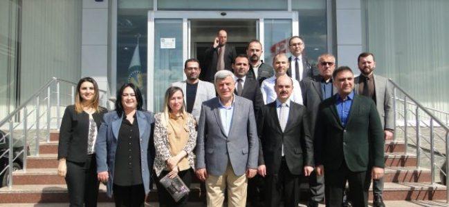 Karaosmanoğlu'ndan KTO'ya veda ziyareti