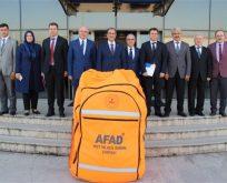 AFAD'da İZDES değerlendirme toplantısı