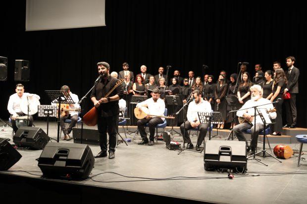 THM Topluluğu Konseri dinleyicileri mest etti