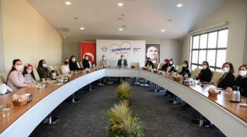 Kadın Meclis Üyeleri ile 8 Mart toplantısı
