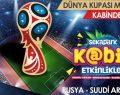 Dünya Kupası maçları, K@bin'deki led ekranda