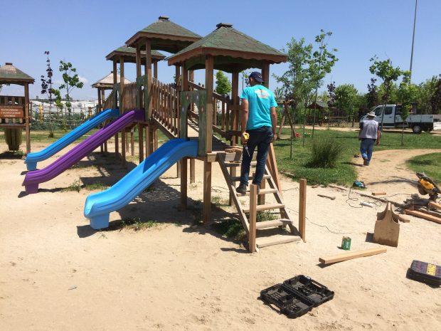 Çocuk oyun grupları, mesire ve parklara kuruldu