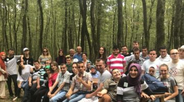 Cemil Meriç öğrencileri Ormanya'yı gezdi