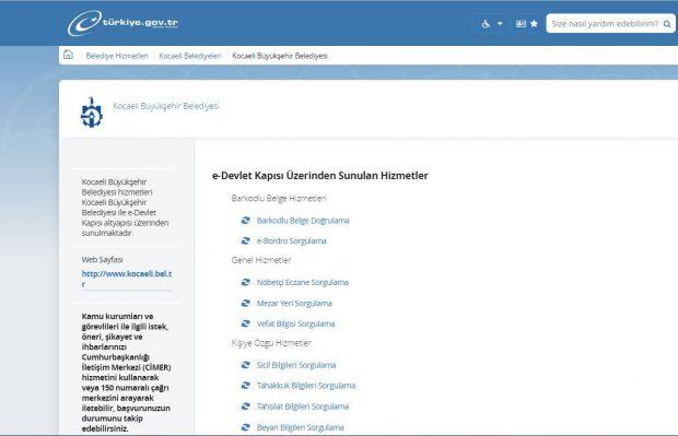 KBB'den e-Devlet kapısına iki yeni hizmet