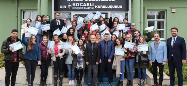 İZAYDAŞ Akademi 46. dönem mezunlarını verdi