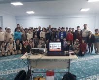 Kur'an kursları afet eğitimleri tamamlandı
