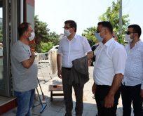 CHP Darıca'da sahadaydı