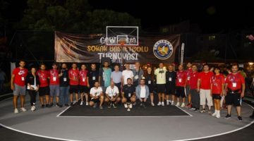 Sokak Basketbolu Turnuvası'nda final günü