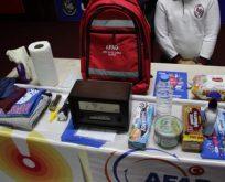 AFAD'dan  Okullarda Afet Çantası Tanıtımı