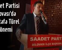 Saadet Partisi Dilovası'da Mustafa Türel Dönemi