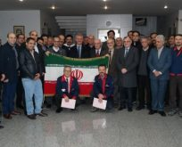 İran ticari heyetinden ziyaret