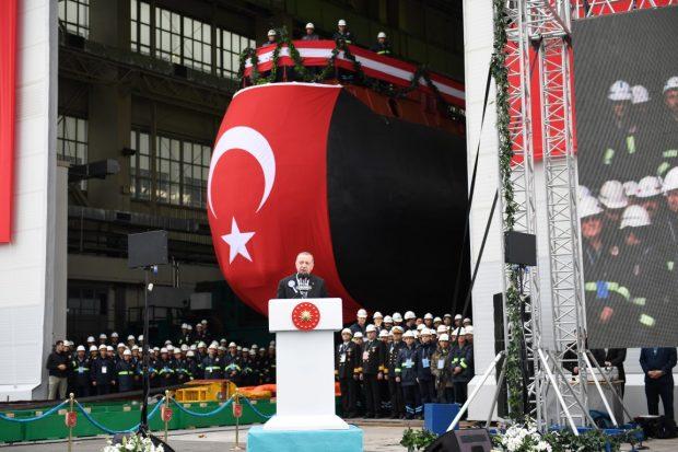 Cumhurbaşkanı Erdoğan Seydialireis'e ilk kaynağı yaptı