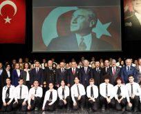 10 Kasım Atatürk'ü Anma programı Yapıldı