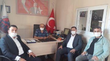 Gebze Saadet Muhtar Öztürk'ü Ziyaret Etti
