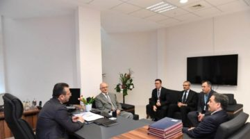 Vali Aksoy'dan Fatih Devlet'e Ziyaret