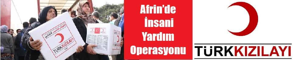 Afrin'de İnsani Yardım Operasyonu