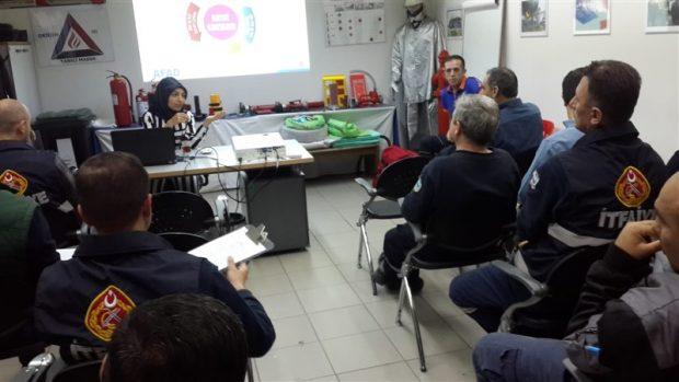 Kocaeli AFAD'da eğitimlere devam