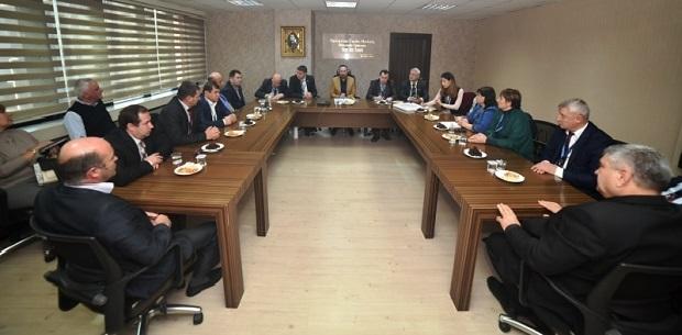 Doğan, Gagavuz (Gökoğuz) Özerk Cumhuriyeti'nden başkanları misafir etti.