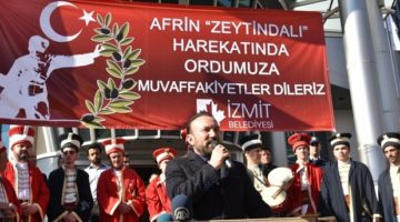 """Zeytin Dalı Harekâtına destek """"1000 adet zeytin fidanı """""""