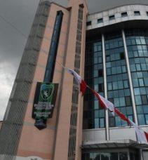 Belsa'da Kocaelispor bayrağı dalgalanıyor