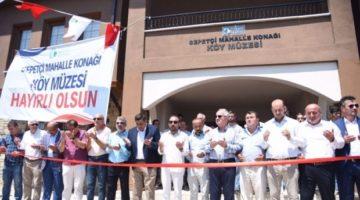 Kocaeli'nin ilk köy müzesi açıldı
