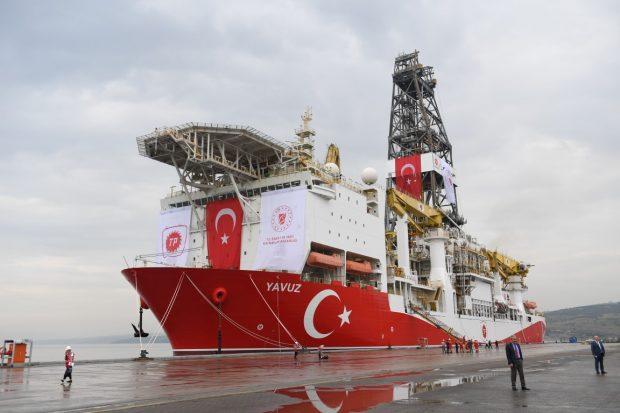 'Yavuz' Akdeniz'e Uğurlandı